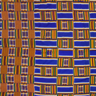 Large <i>Kente</i> Cloth