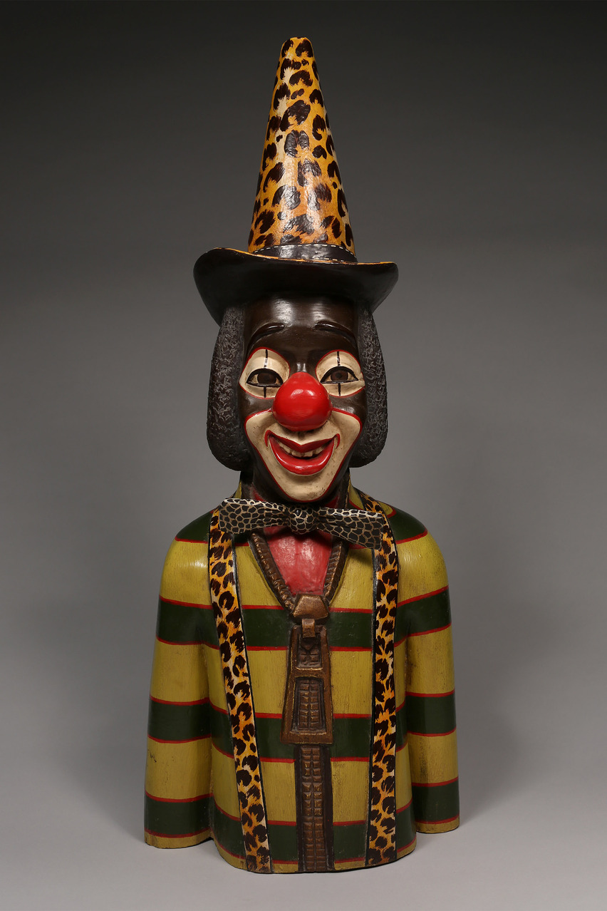 Colonial Figure: A Clown, West Africa
