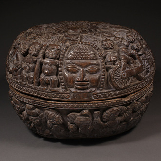 Large Ifa Divination Bowl
