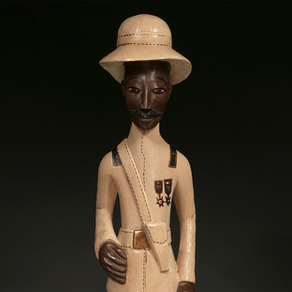 Colonial Figure: Military Officer