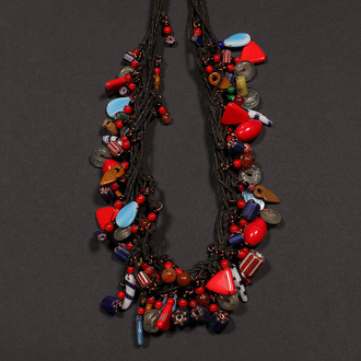 Fulani beaded necklace