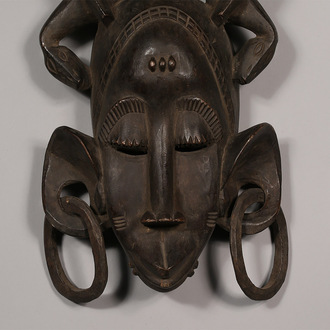 Decorative Kpelie Mask