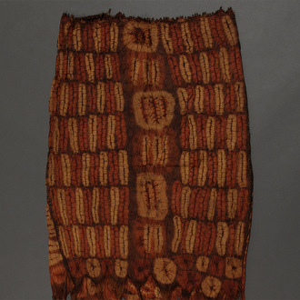 Ceremonial Plaited Raffia Skirt