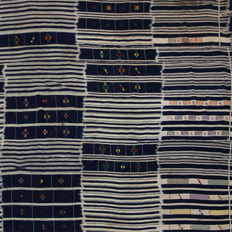 Cotton Warp-Ikat Cloth